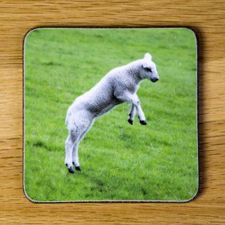 Leaping Lamb Coaster dc0013-3303
