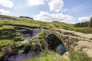 The Pack horse Bridge in Burbage Valley